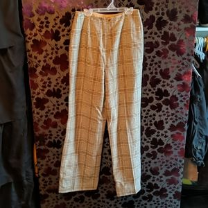 Vintage High Waisted Wool Trousers